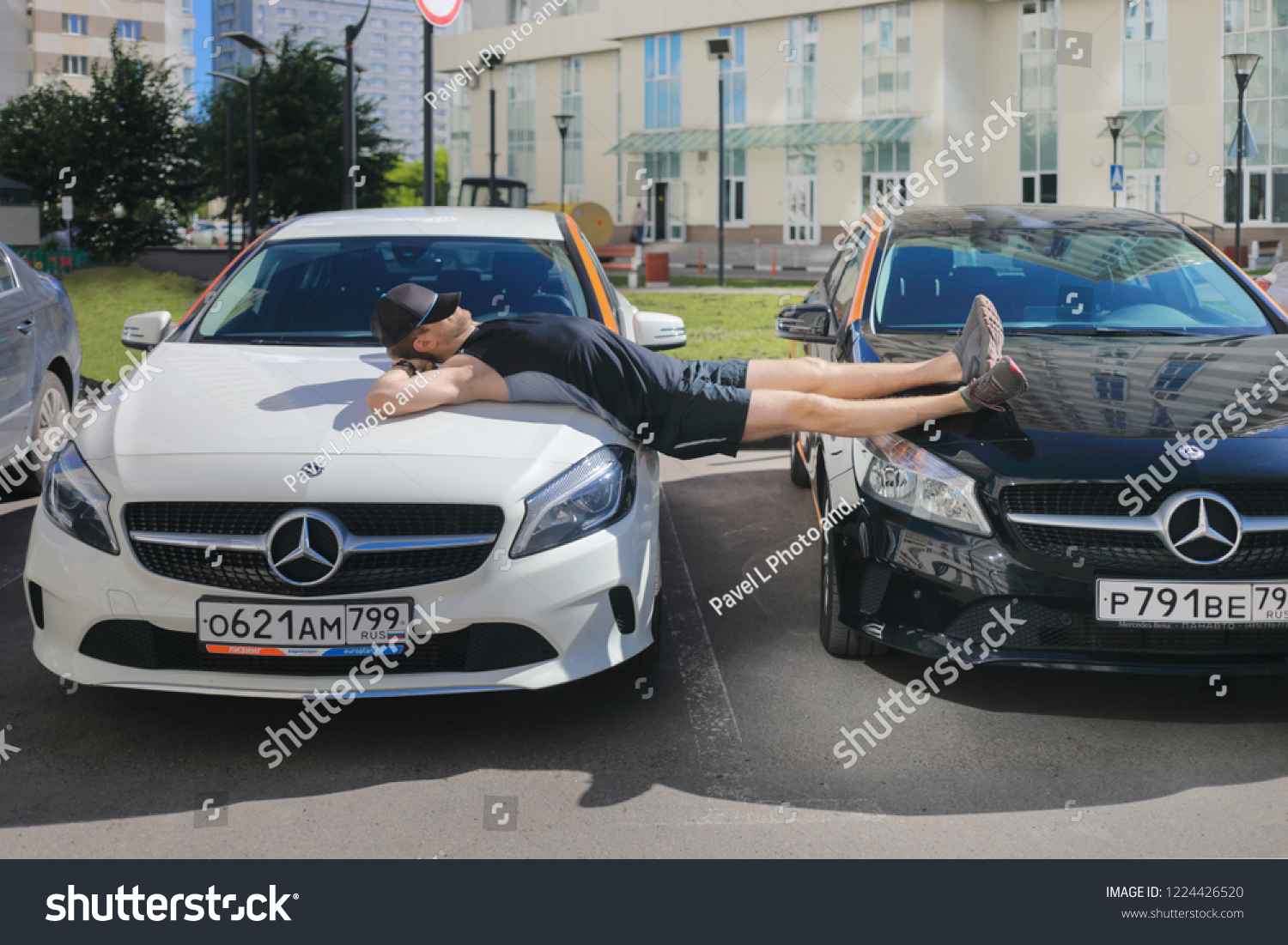 Moscow Jun 20 2018 Man With Stock Photo Edit Now 1224426520