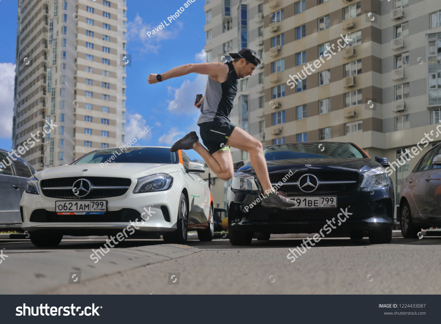 Moscow Jun 20 2018 Guy With Stock Photo Edit Now 1224433087