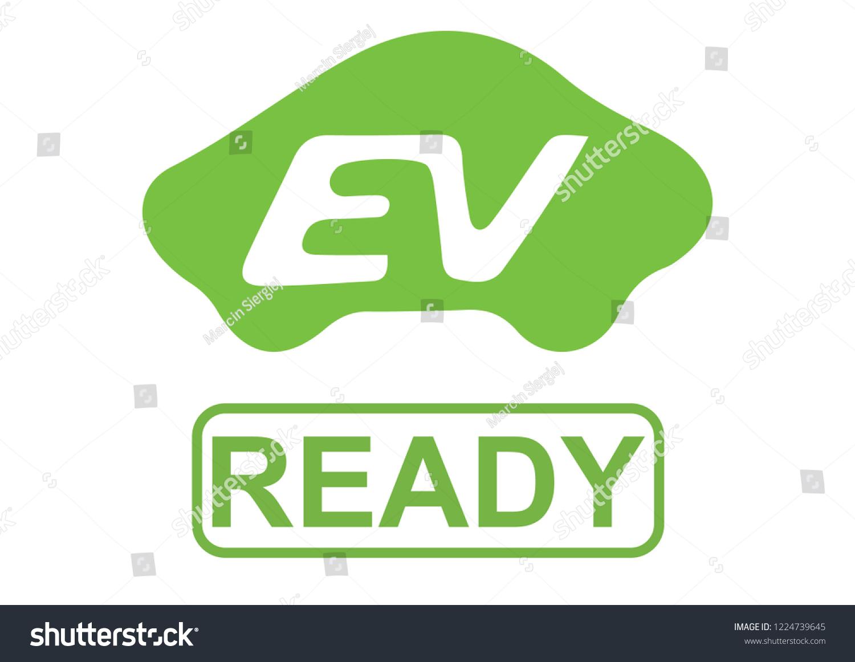 Vector De Stock Libre De Regalias Sobre Illustration Electric Vehicle Ev Ready Operation1224739645