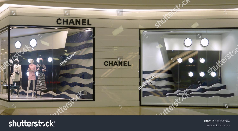 202d00cbfbc Bangkok Thailand November 9 2018 Chanel Stock Photo (Edit Now ...