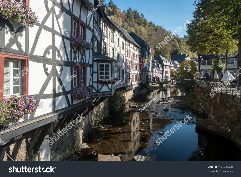Monschau Aachen Germany October 2018 Picturesque Stock Photo Edit Now 1226237410