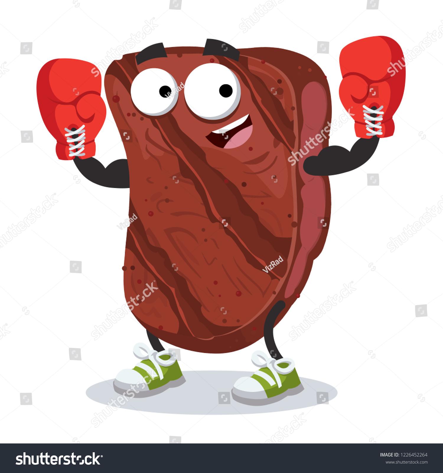 cartoon grilled marbled beef steak mascot stock vector royalty free 1226452264 https www shutterstock com image vector cartoon grilled marbled beef steak mascot 1226452264