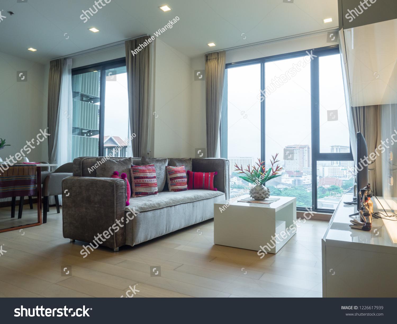 Room Interior Decoration Condominium Contemporary Furniture