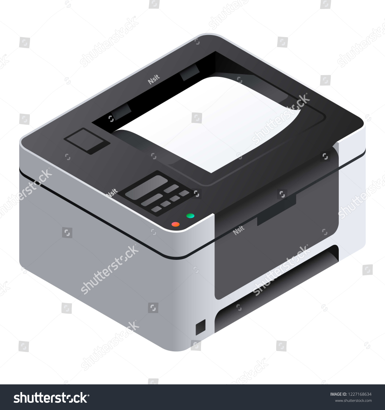 printer icon isometric printer vector icon stock vector royalty free 1227168634 https www shutterstock com image vector printer icon isometric vector web design 1227168634