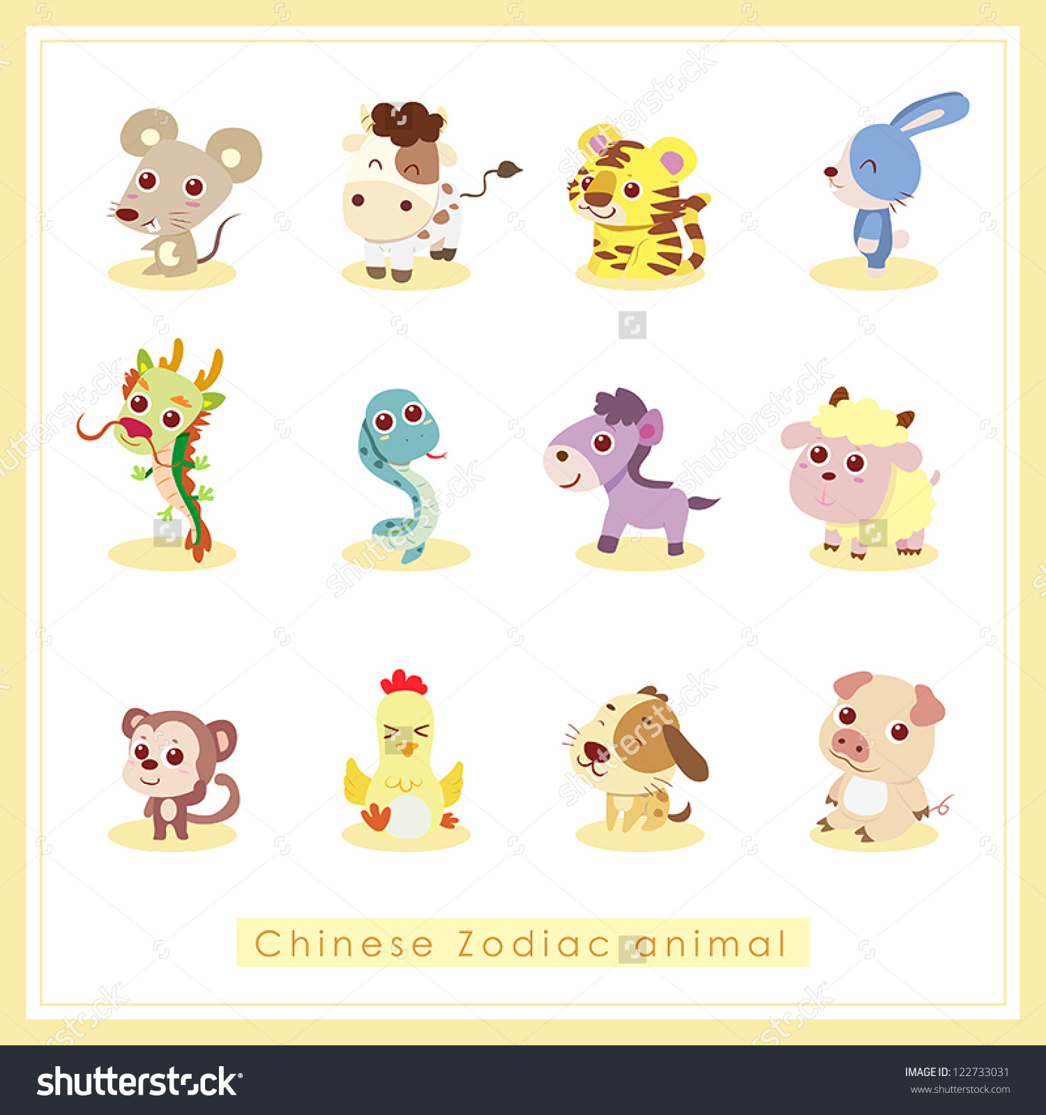 cartoon animal stickers in - photo #19