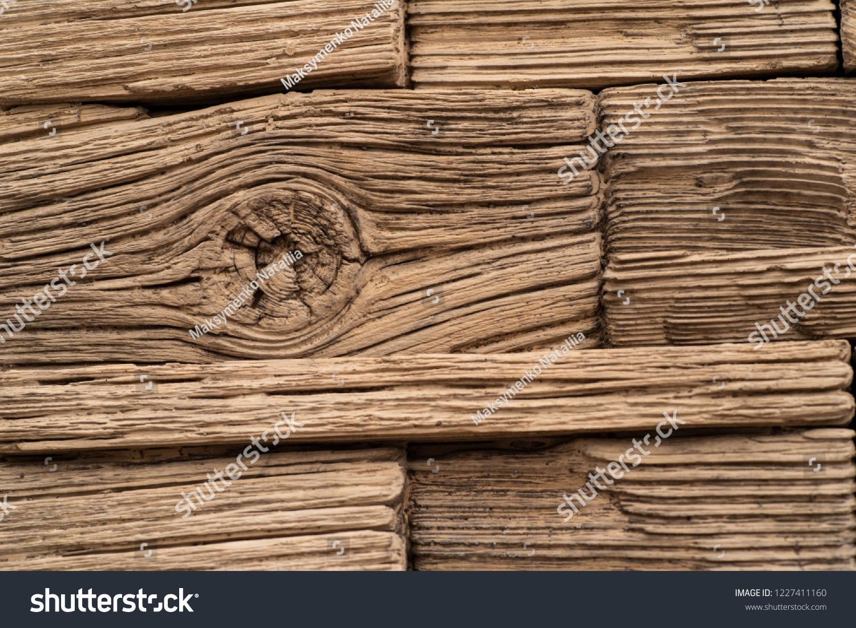 Imitation Wood Paving Tiles Imitation Wood Stock Photo Edit Now