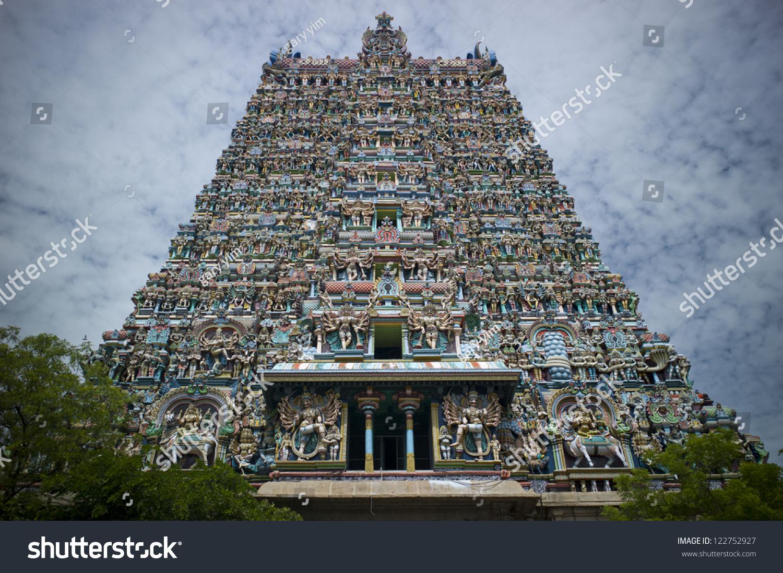 Sri Ranganathaswamy Temple Tiruchirappalli Trichy Tamil Stock Photo