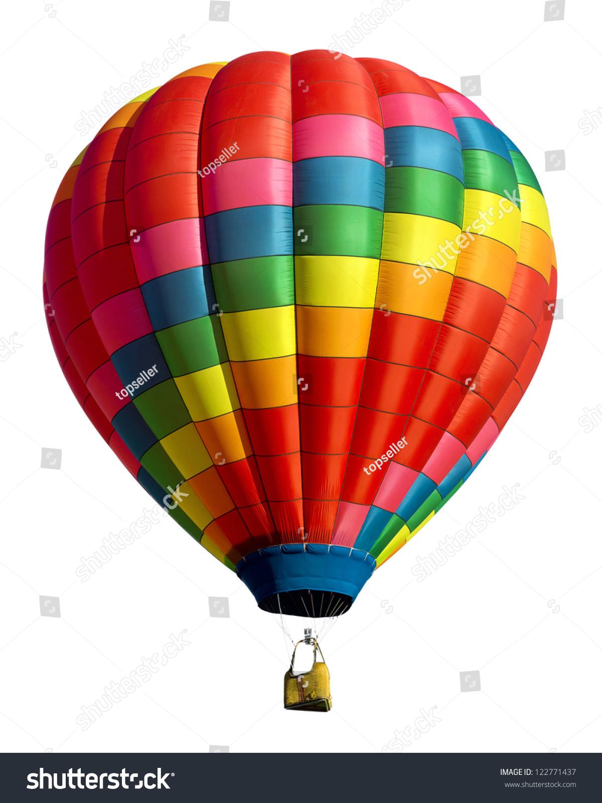 Воздушный шар на белом фоне 3