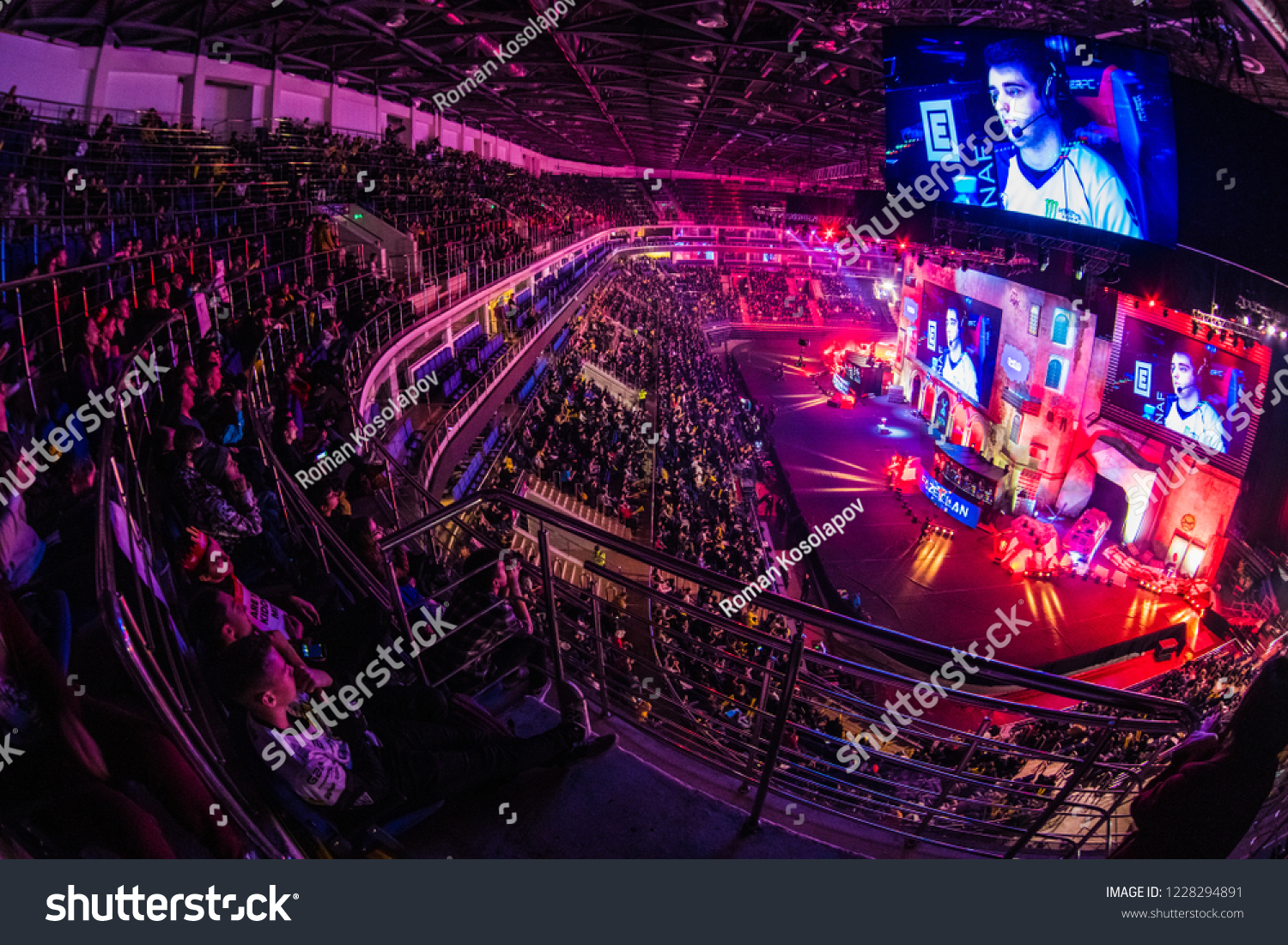 MOSCOW RUSSIA OCTOBER 2018 Counter Strike Stock Photo (Edit