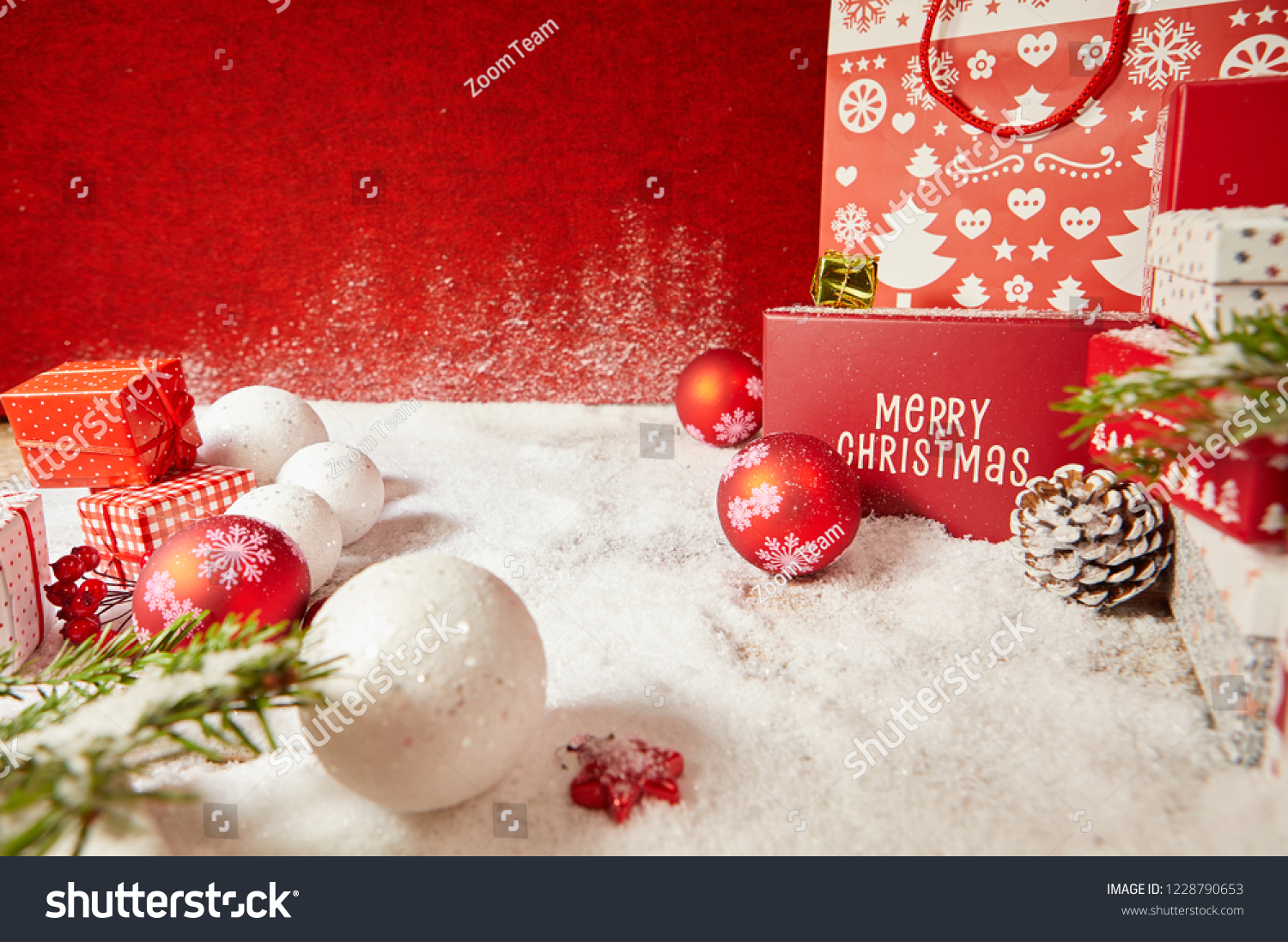 christmas background red christmas box on stock photo edit now 1228790653 https www shutterstock com image photo christmas background red box on greeting 1228790653