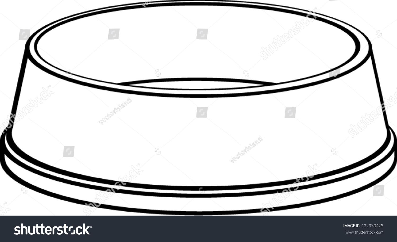 clipart dog bowl - photo #45