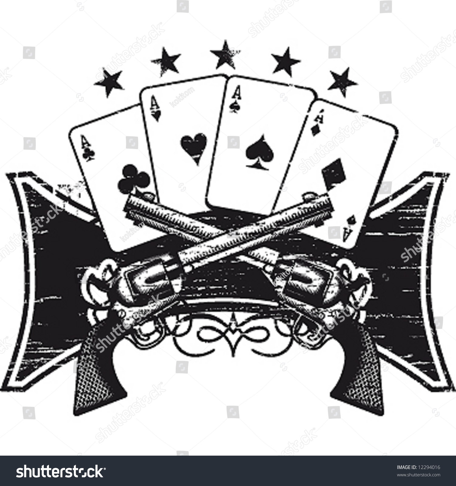Poker terms under the gun