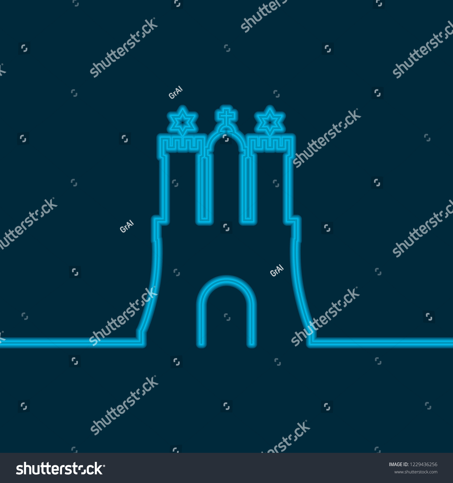 travel template hamburg city coat arms stock vector royalty free
