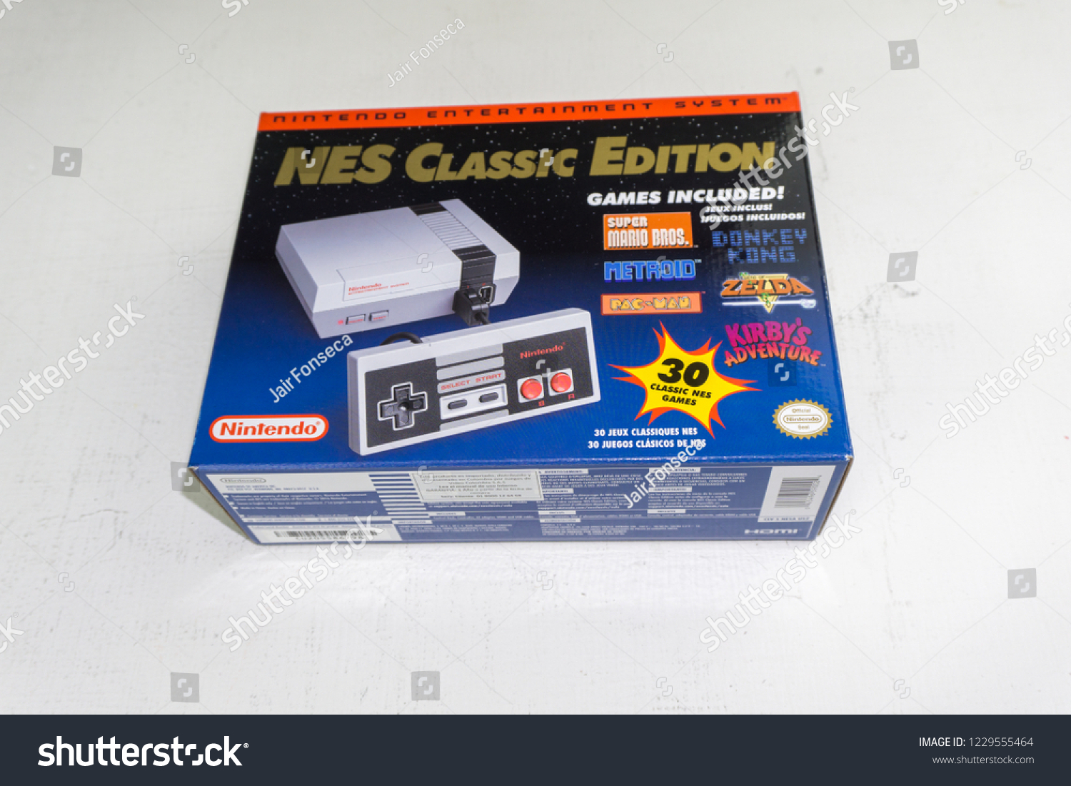 Nintendo Nes Classic Edition Video Game Stock Photo Edit Now