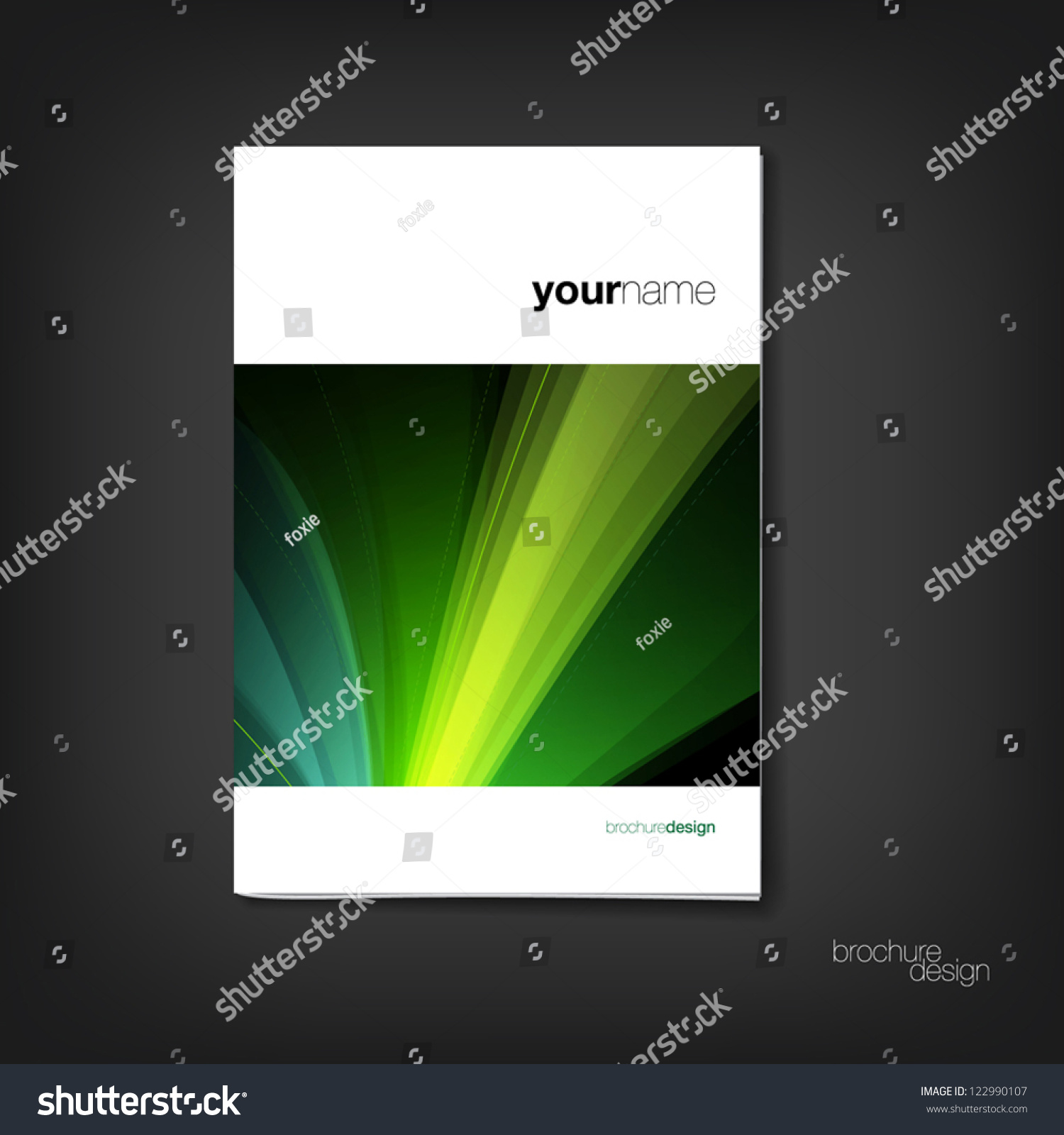 brochure booklet cover design template stock vector  brochure booklet cover design template