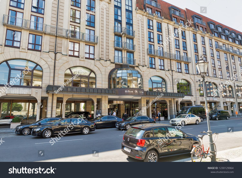 Berlin Germany July 142018 Hilton Hotel Stock Photo Edit Now