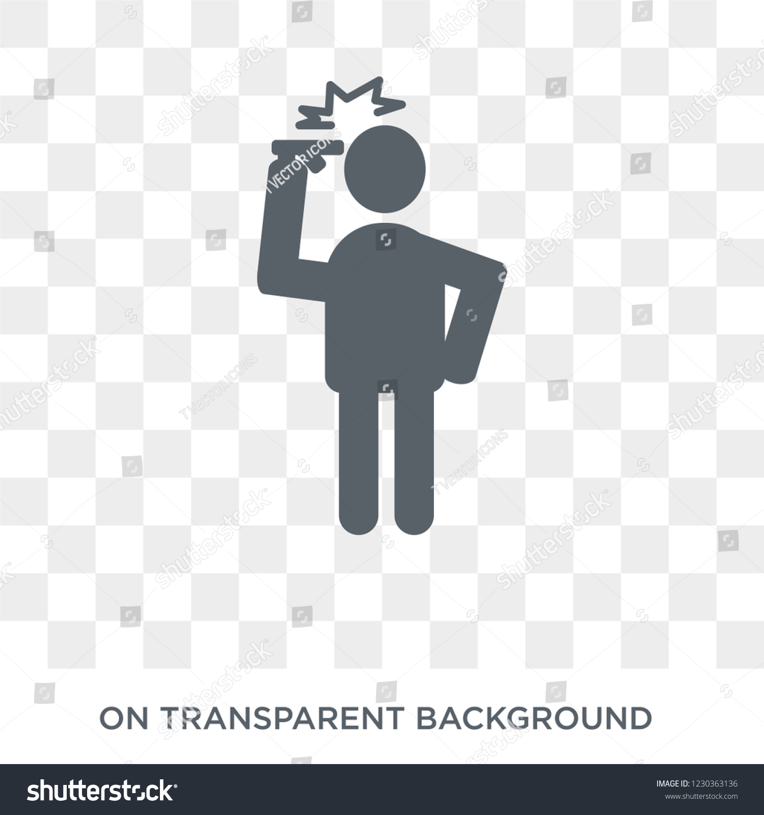 Hopeless Human Icon Trendy Flat Vector Stock Vector Royalty Free 1230363136 Even if in the ic_launcher.xml i set the background to a transparent color but the. shutterstock