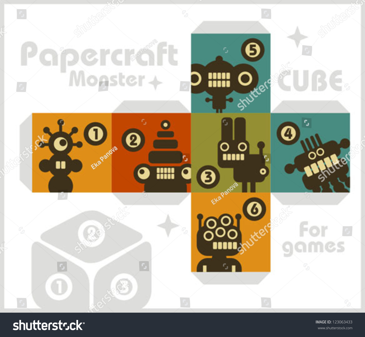 how to make a paper cube game