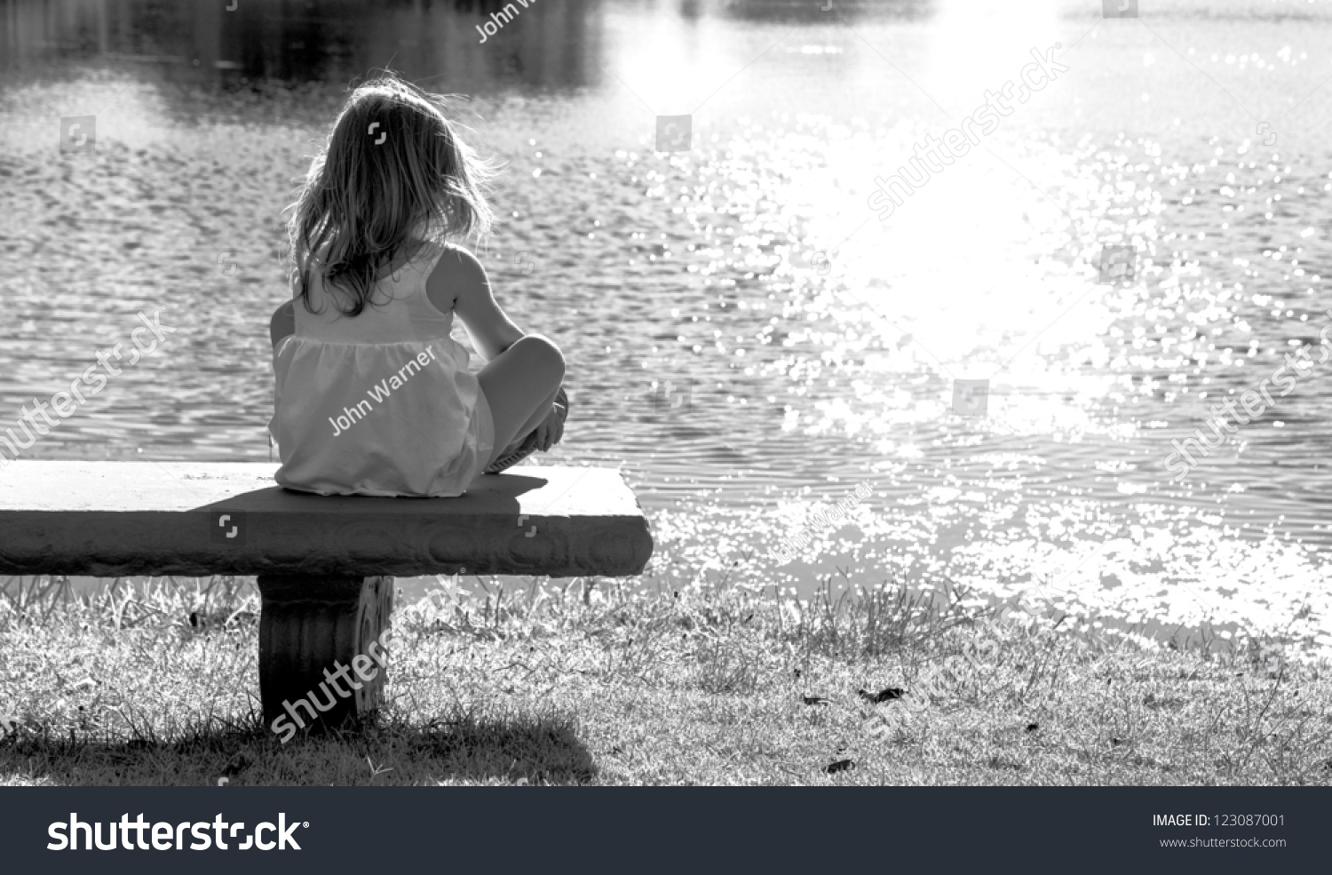 A Lonely Little Girl
