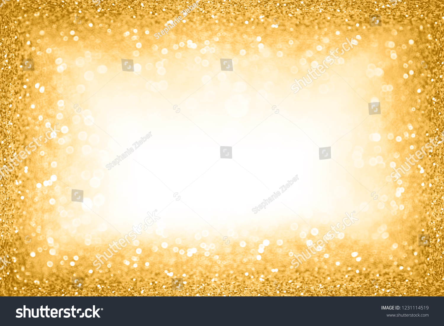 fancy glam gold glitter sparkle confetti background for golden happy birthday party invite 50th wedding