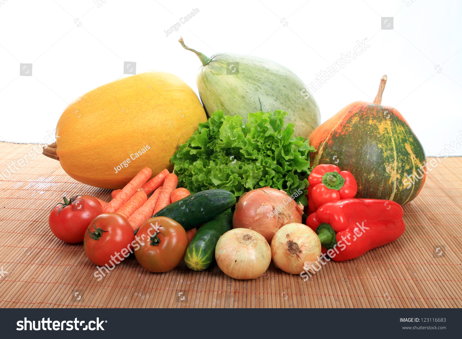 Beautiful vegetables isolated on white background stock for Beautiful vegetables