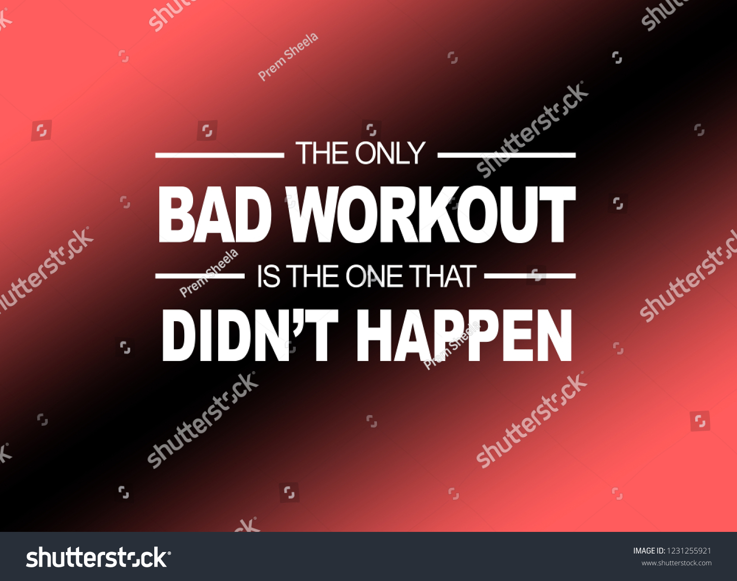 Royalty Free Stock Illustration Of Fitness Quotes Workout Gym Health