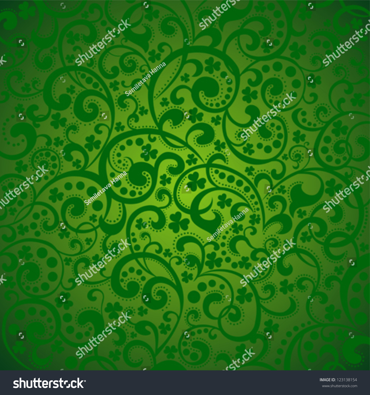 st patricks day background green colors stock vector 123138154