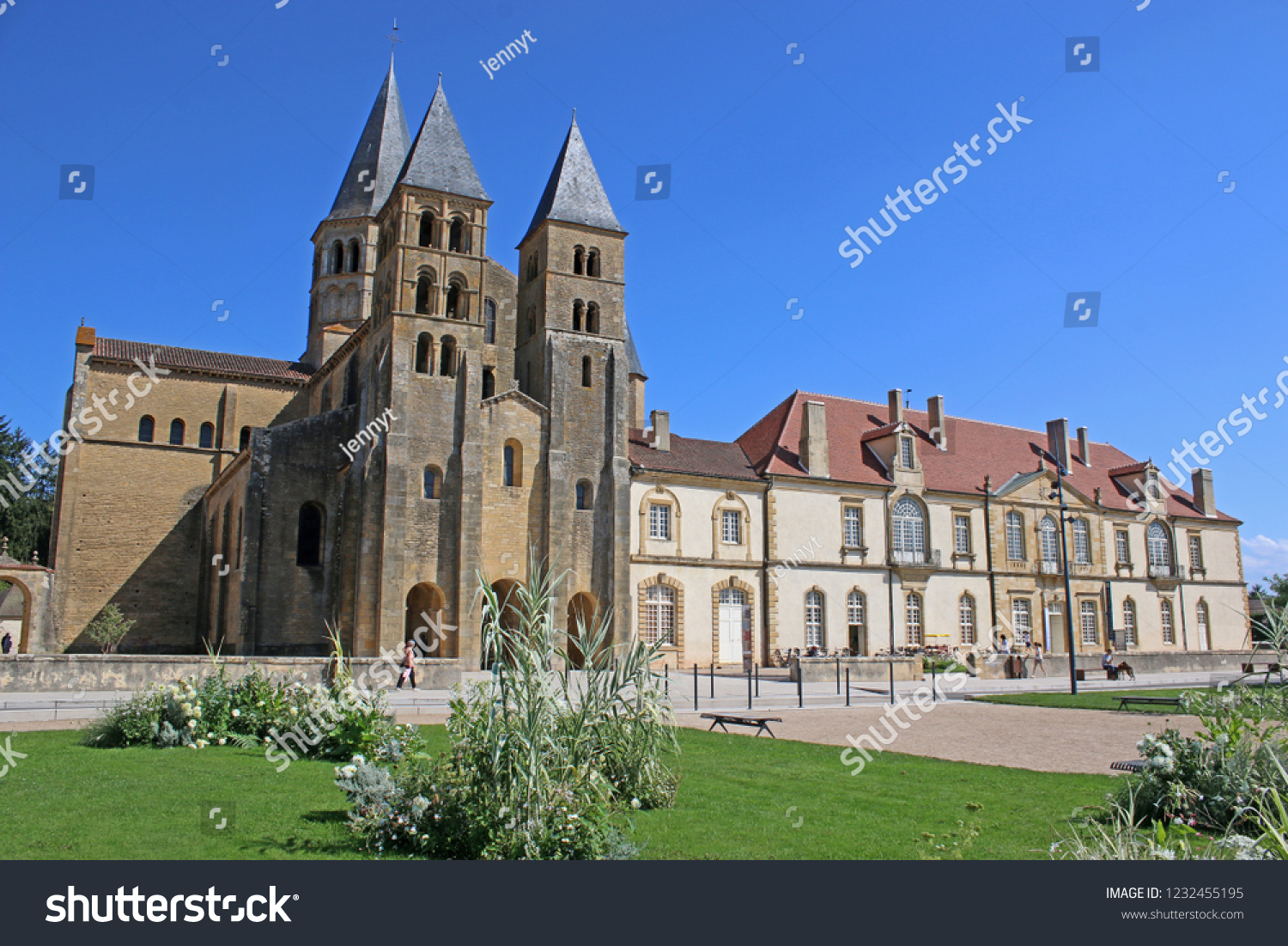Architecte Paray Le Monial paray le monial basilica france | royalty-free stock image