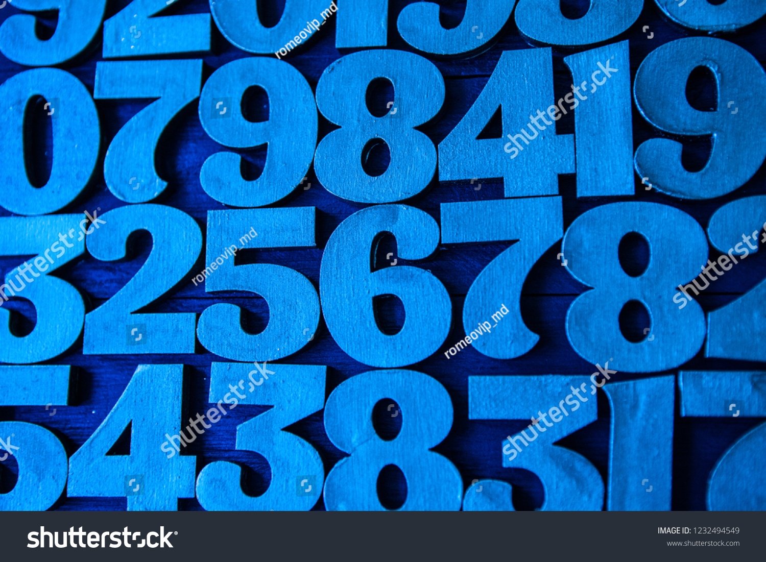 Background of numbers. from zero to nine. Background with numbers. Numbers texture. Mathematics concept