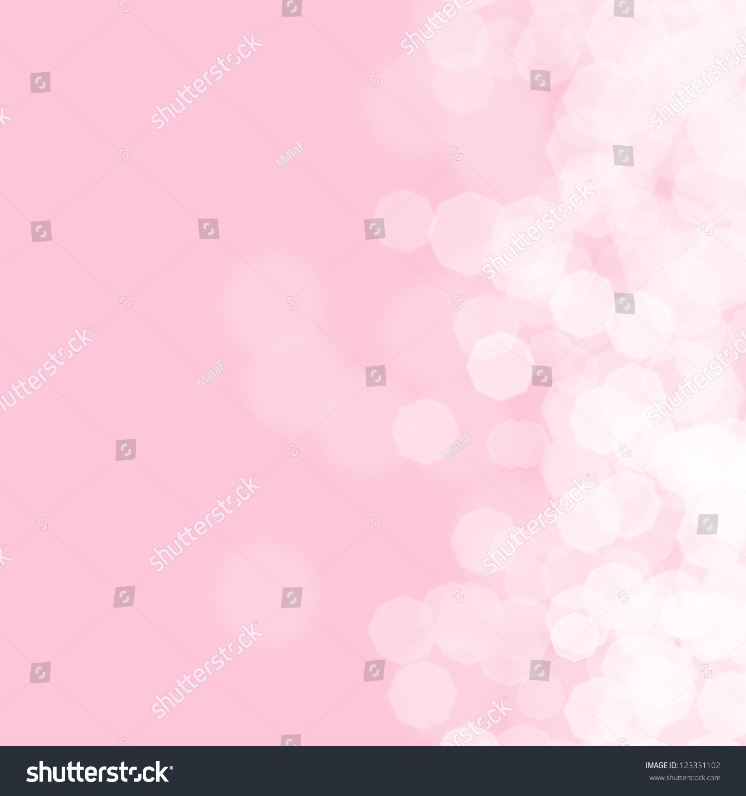 abstract pink background for birthday card stock photo