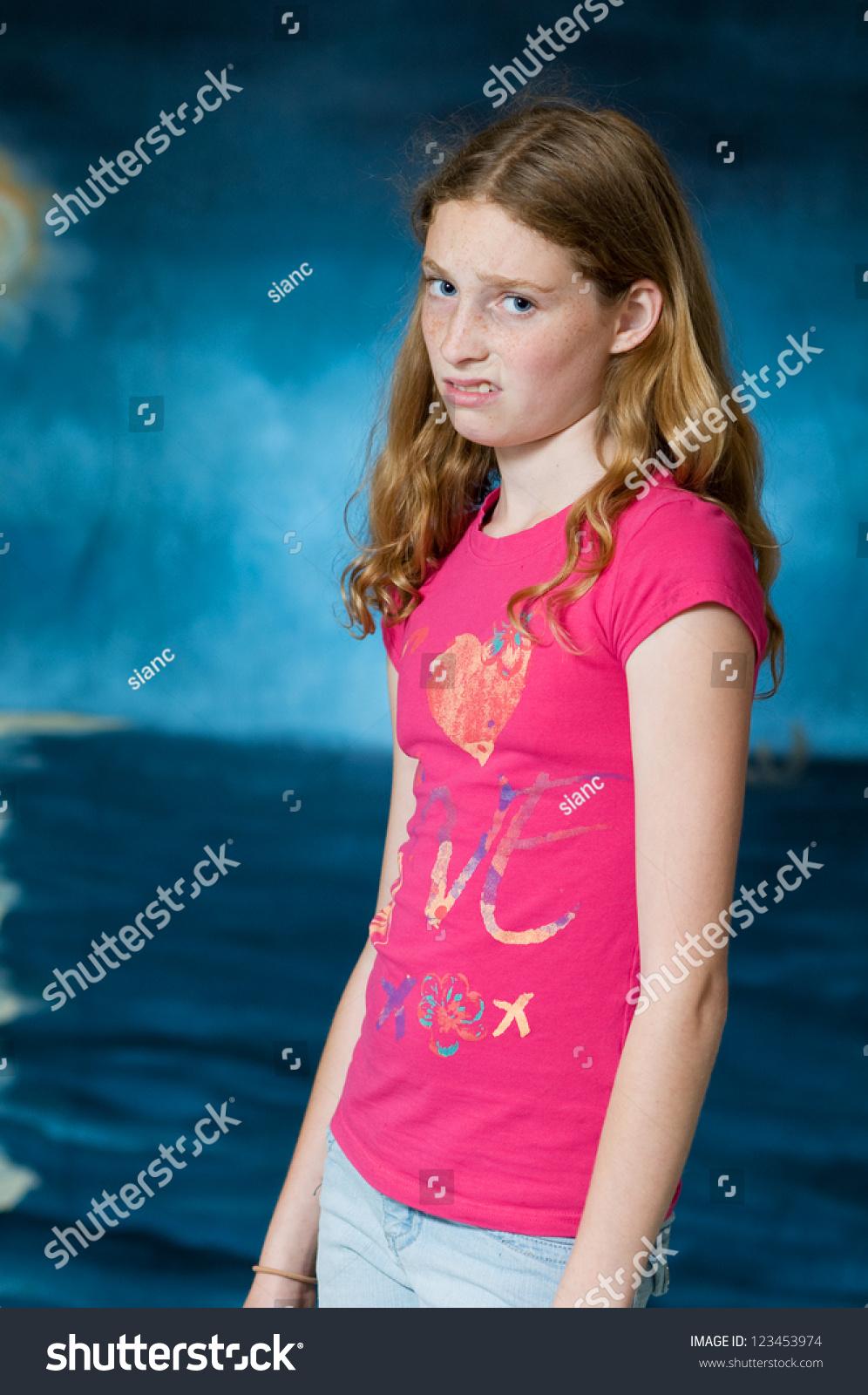 Teenage Girl Bad Attitude Stock Photo 123453974 - Shutterstock