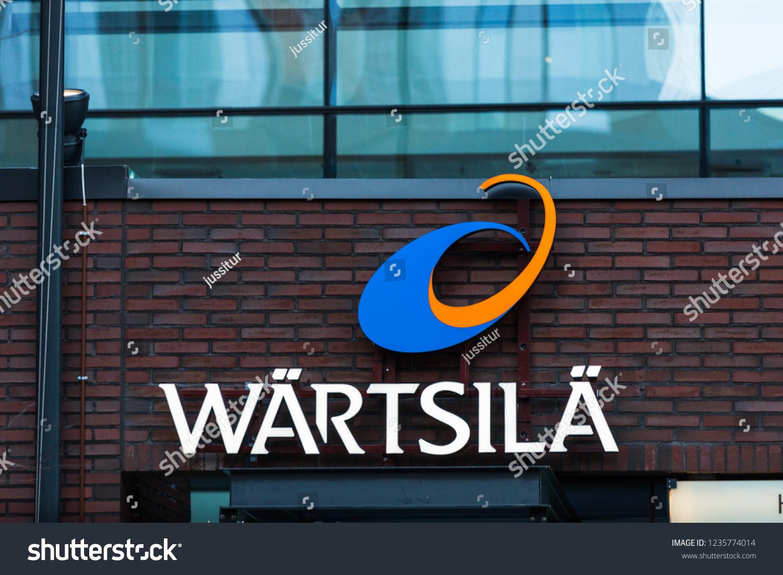Helsinki Finland November 18 2018 Company Stock Photo (Edit