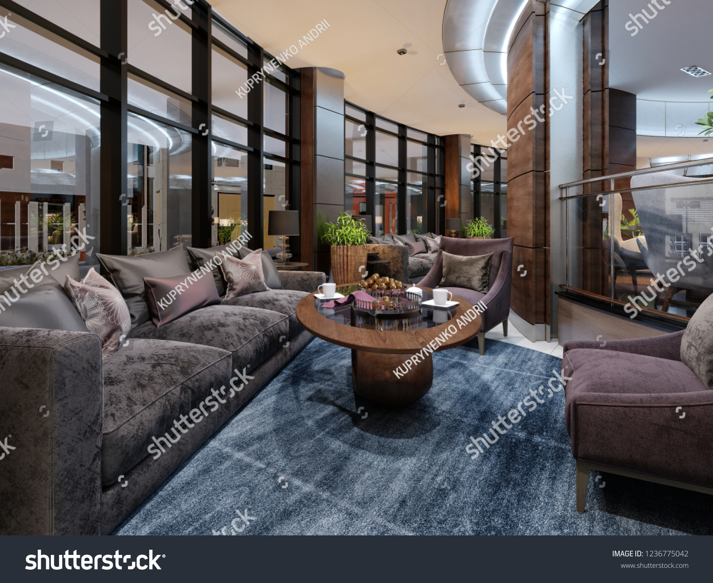 Contemporary Hotel Interior Design Hotel Lobby Buildings