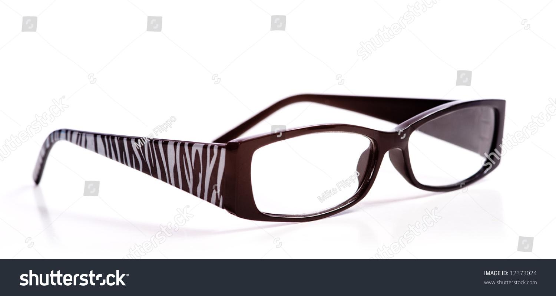 9b329f5216 Trendy Reading Glasses Zebra Pattern On Stock Photo (Edit Now ...
