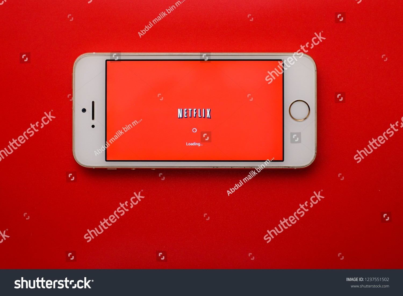 Kota Kinabalusabahmalaysia November 22 2018 Netflix Stock Photo