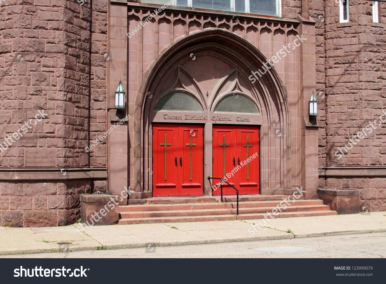 Thomson Methodist Episcopal Church Wheeling West Stock Photo Edit