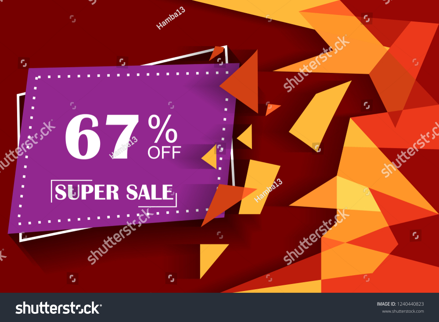 4020fdc93e3e 67 Off Discount Promotion Sale Sale Stock Vector (Royalty Free ...