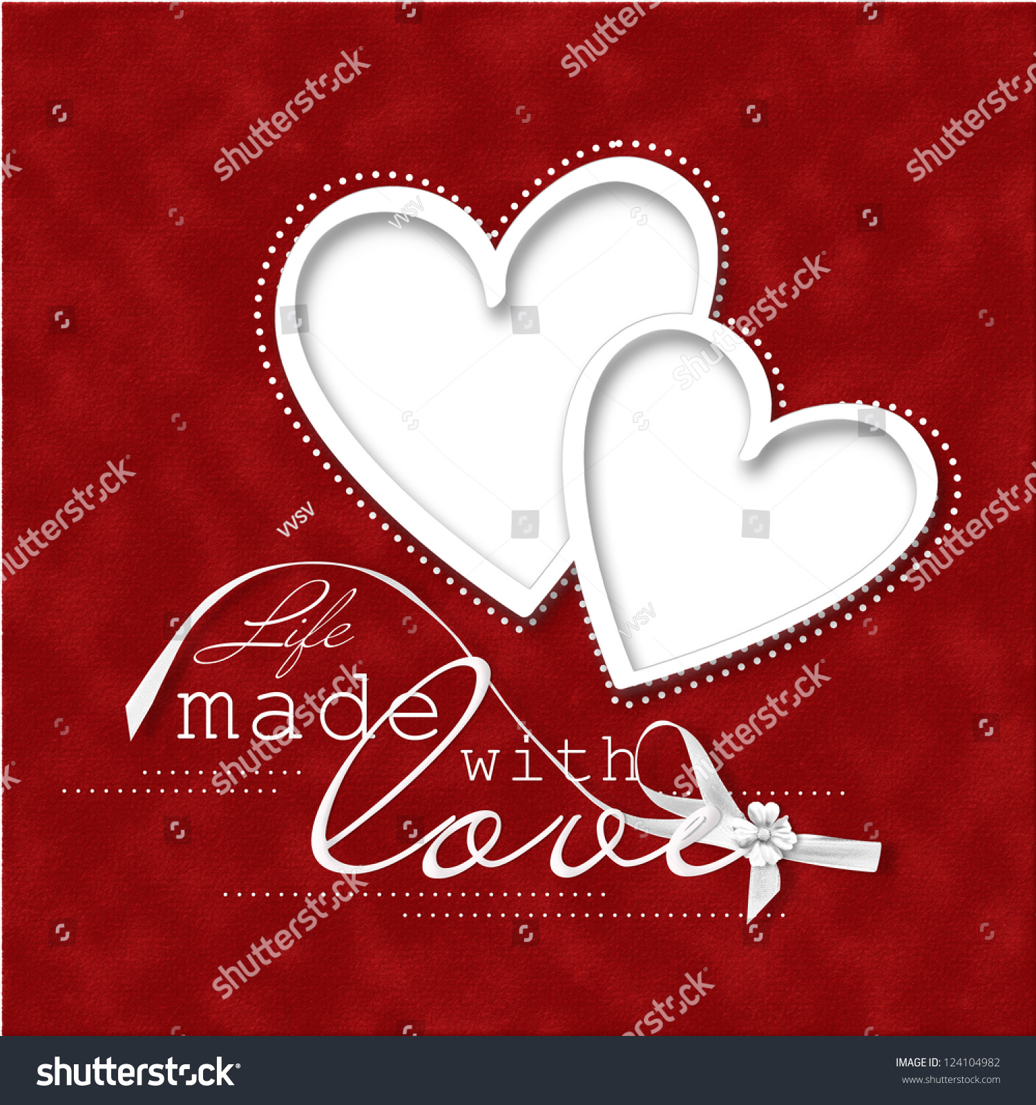 Valentines Day Cardbeautiful Red Background Frameheart – Beautiful Valentines Day Cards