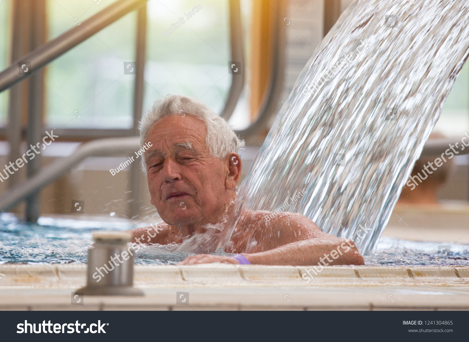 Image result for enjoying warm water bath