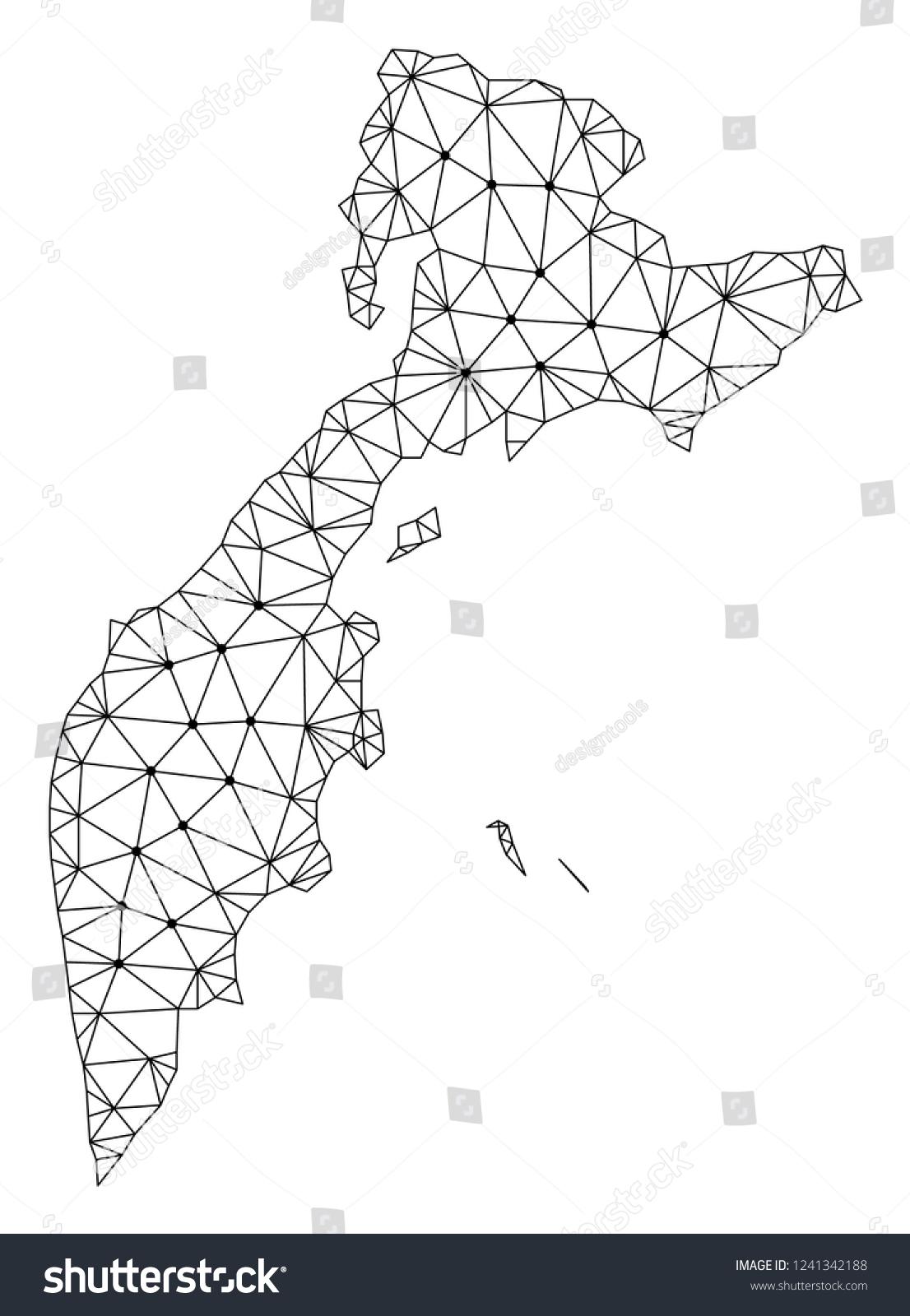 Polygonal Mesh Map Kamchatka Peninsula Black Stock Vector (Royalty on saint petersburg, volga river map, white sea map, siberia map, caucasus mountains map, don river, kola peninsula, sea of okhotsk, russia map, klyuchevskaya sopka, russian far east, irkutsk map, lake baikal, bering strait, aleutian islands, russian far east map, dnieper river map, west siberian plain, sea of okhotsk map, ob river map, kola peninsula map, sakhalin island map, kuril islands, kuril islands map, gobi desert map, bering strait map, ural mountains map, lake baikal map, amur river map,