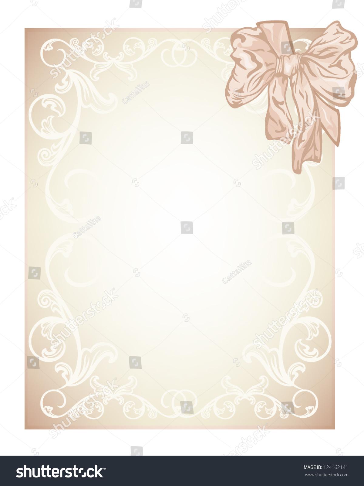 blank wedding invitation card design - 28 images - wedding card ...