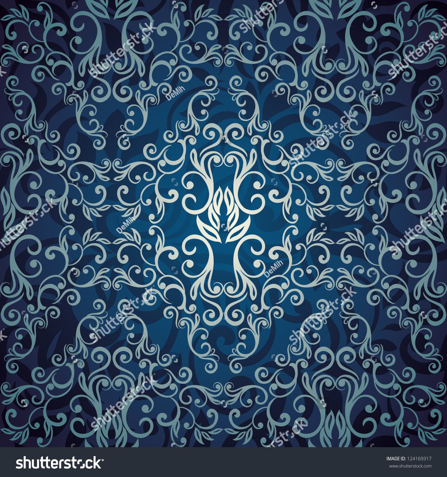 Blue elegant wallpaper the image kid for Blue wallpaper designs