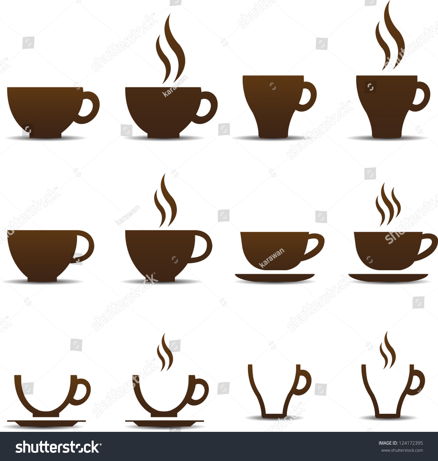 Coffee cup vector free - Coffee Cup Vector