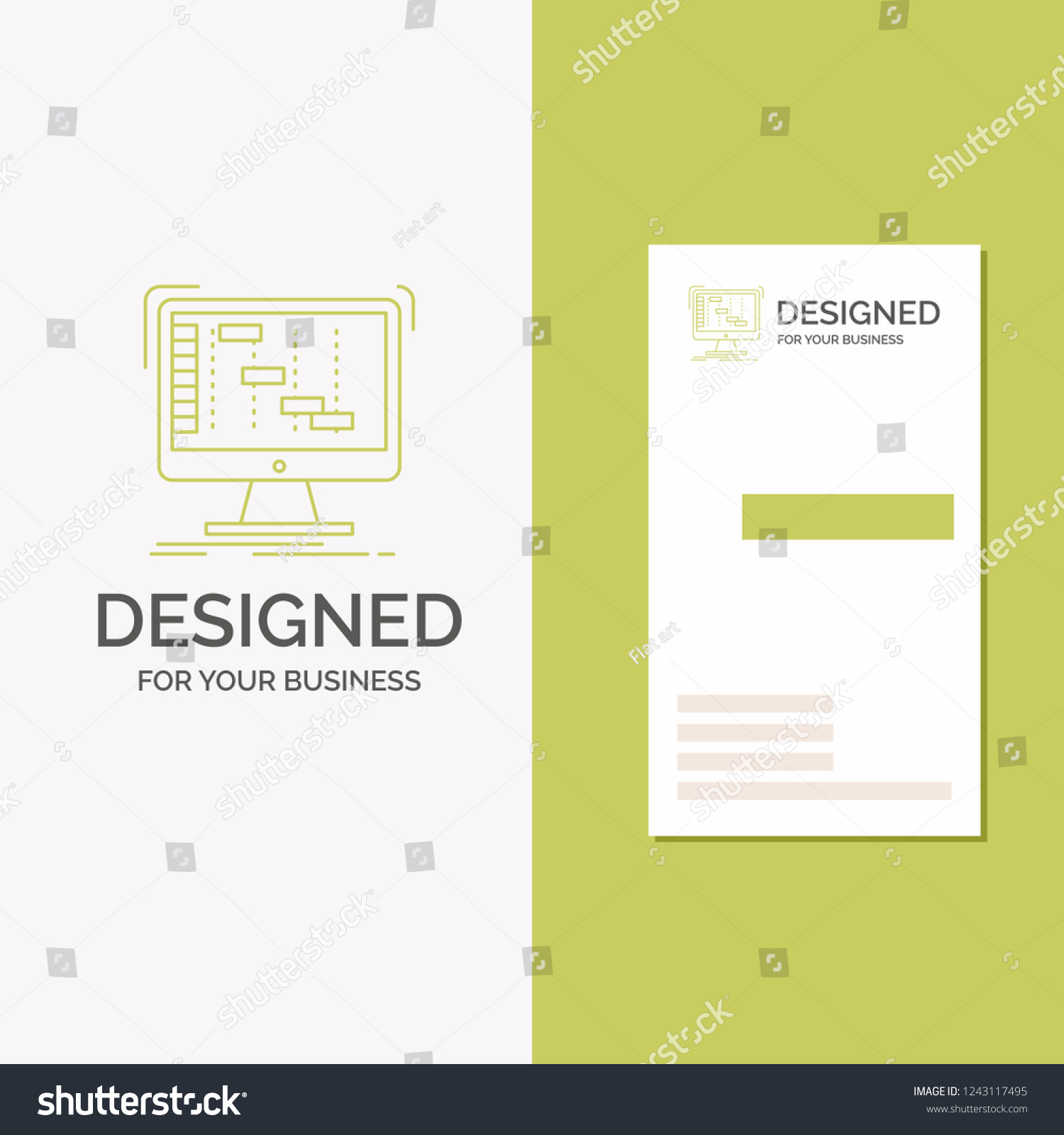 Business Logo Ableton Application Daw Digital Stock Vector (Royalty