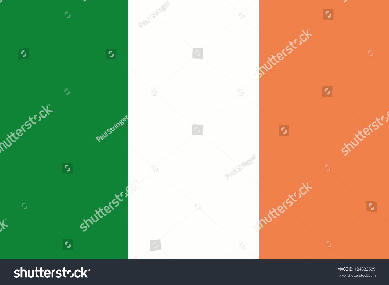 illustration flag ireland stock illustration 124322539 shutterstock