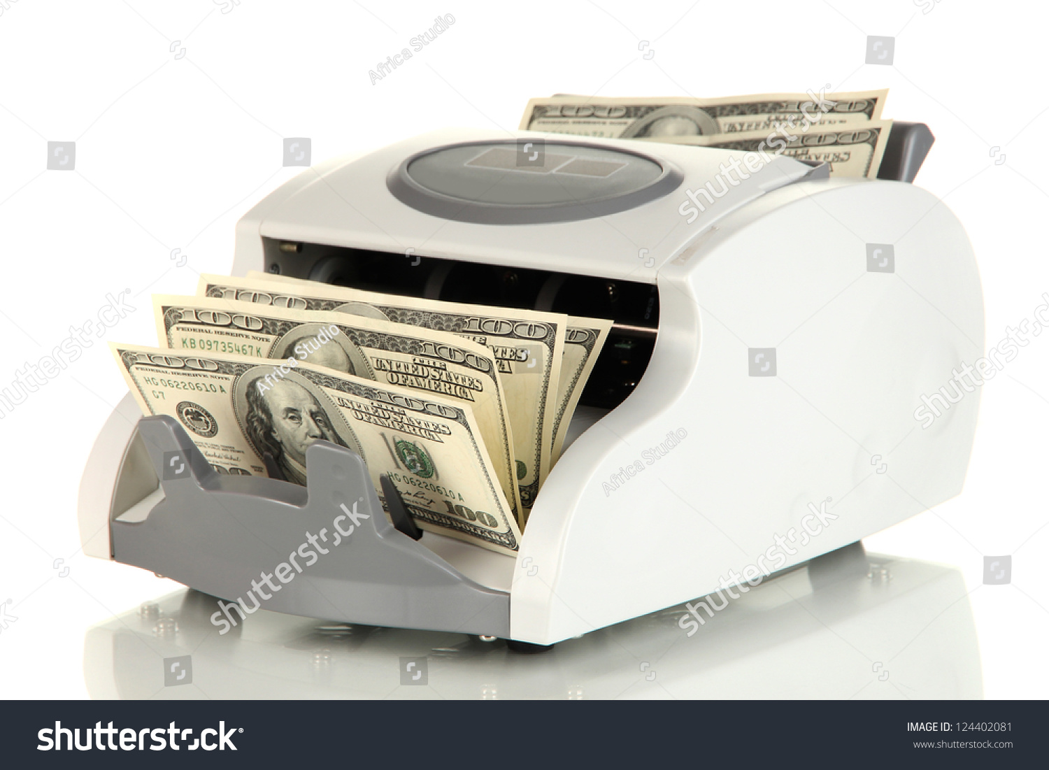 machine for counting money