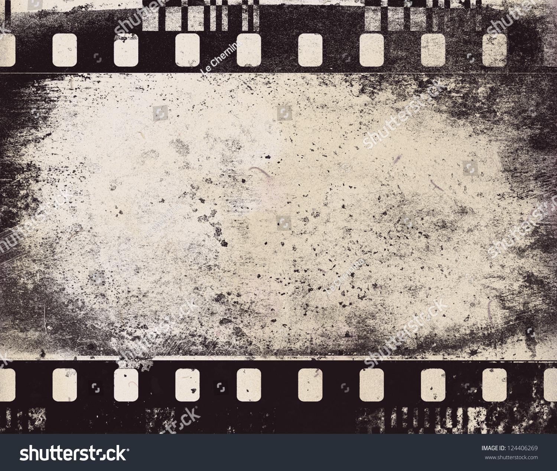 Vintage Film Strip Frame Stock Illustration 124406269 - Shutterstock