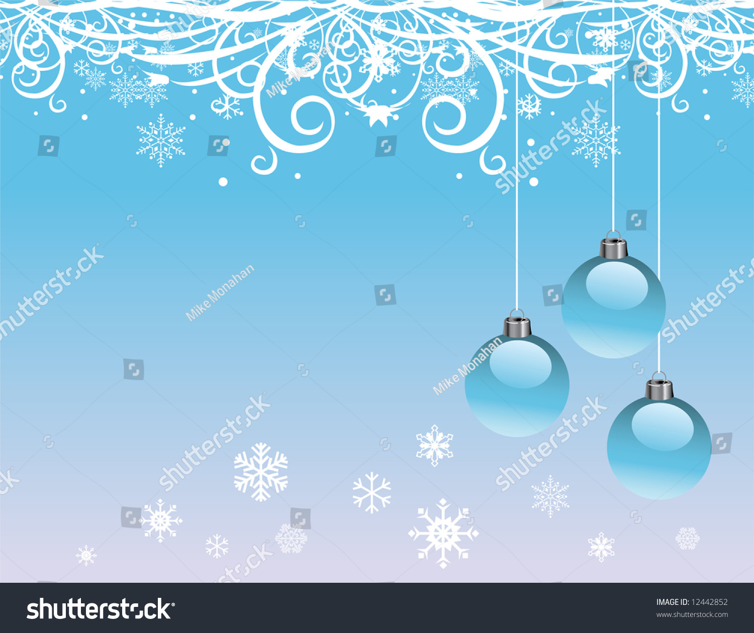 Christmas background blue color stock illustration - Is blue a christmas color ...