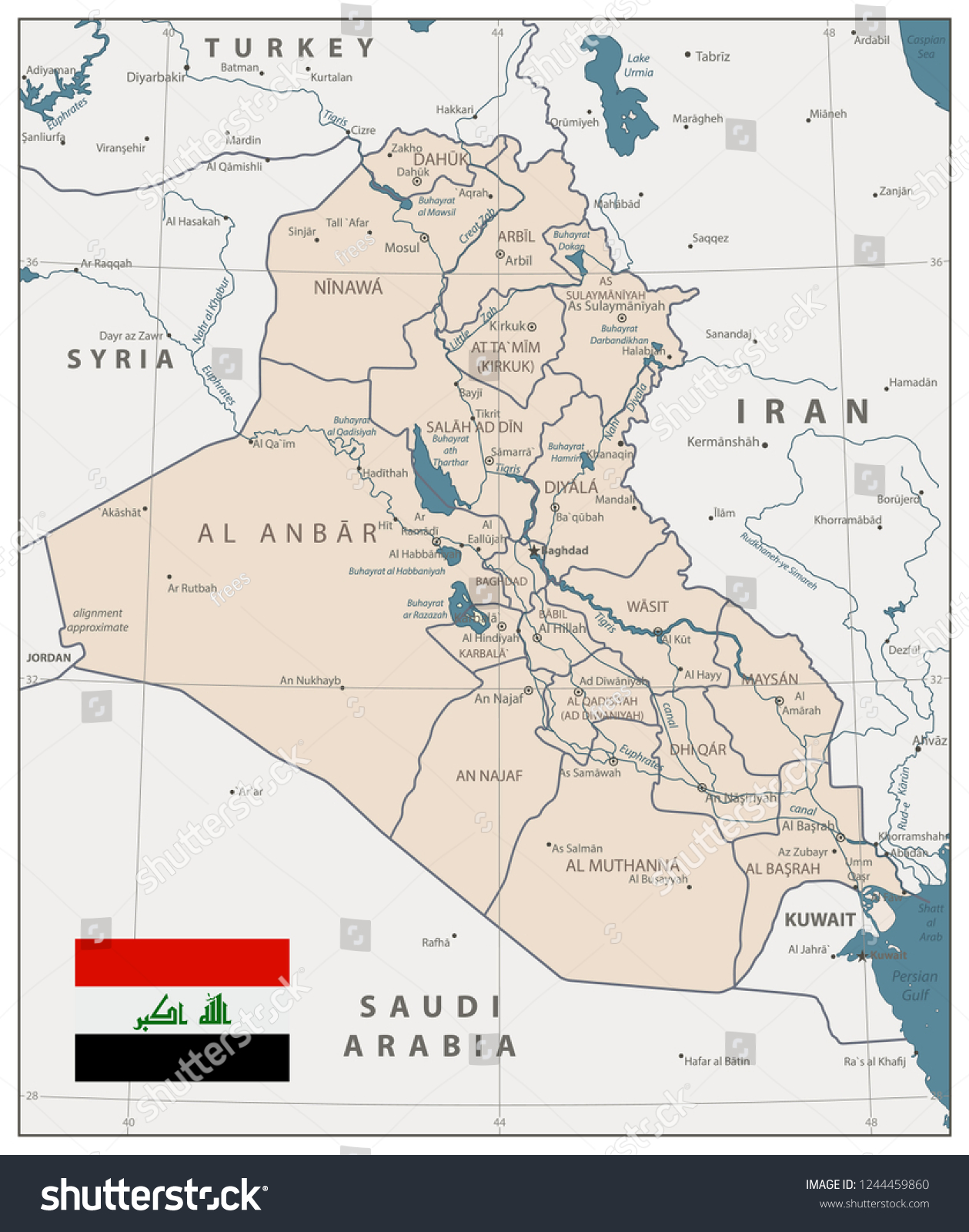 Old Baghdad Map | www.tollebild.com