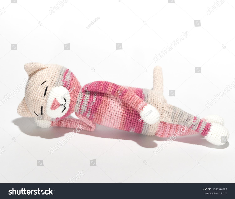 Crochet pattern amigurumi white cat, Amigurumi cat pattern, Easy ... | 1267x1500